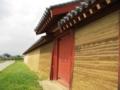 築地塀と門