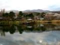 岳温泉鏡池