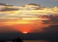 ボーデン湖の夕景