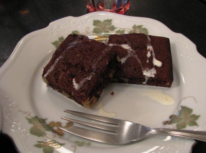 ブラウニーケーキ