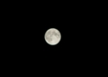 十六夜の月 スーパームーン