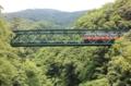 出山の鉄橋