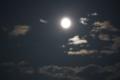 十五夜の月