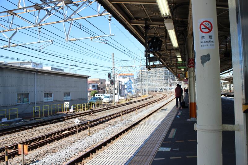 大船駅にて