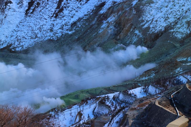 大涌谷噴火口