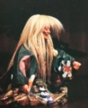 友枝昭世のテレホンカード 「鵺」