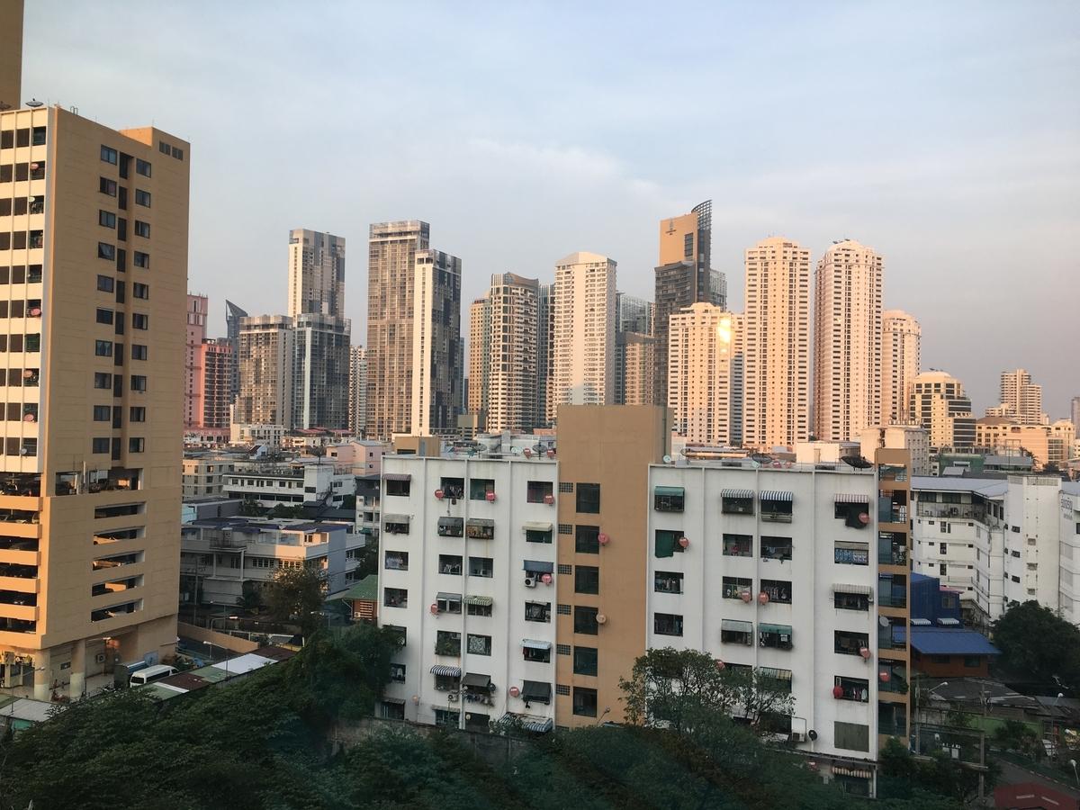 odena by Fraser Bangkokからの眺め
