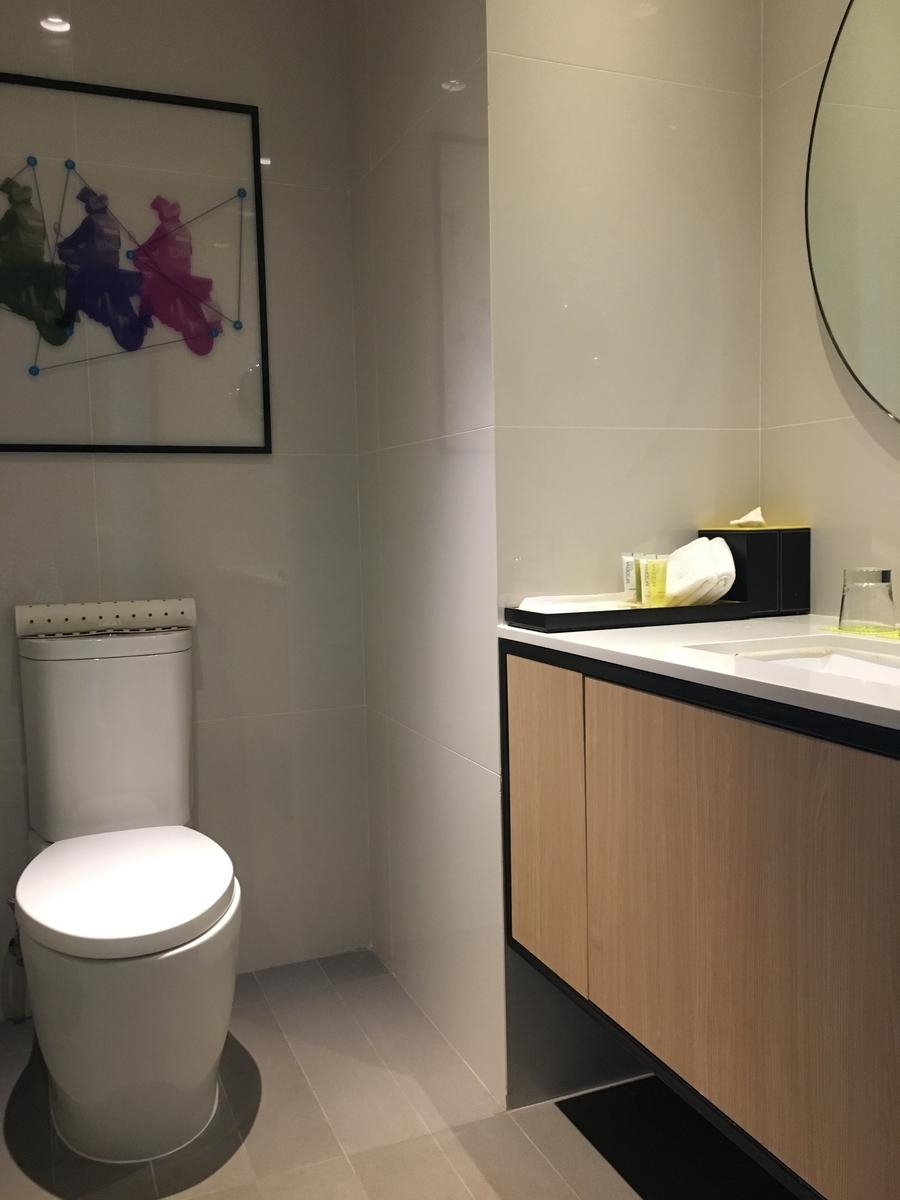odena by Fraser Bangkokのトイレ