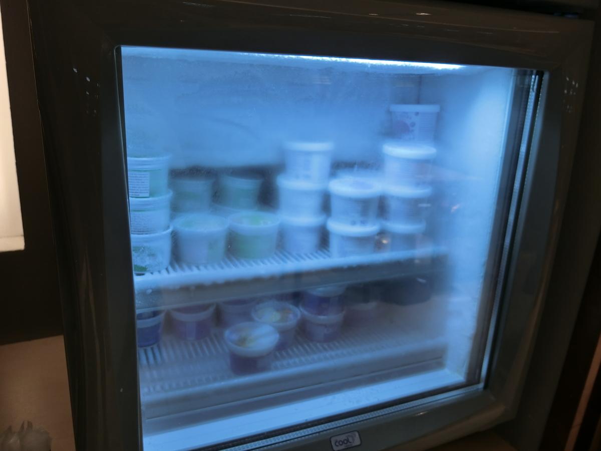 どのラウンジにもあるアイスクリーム