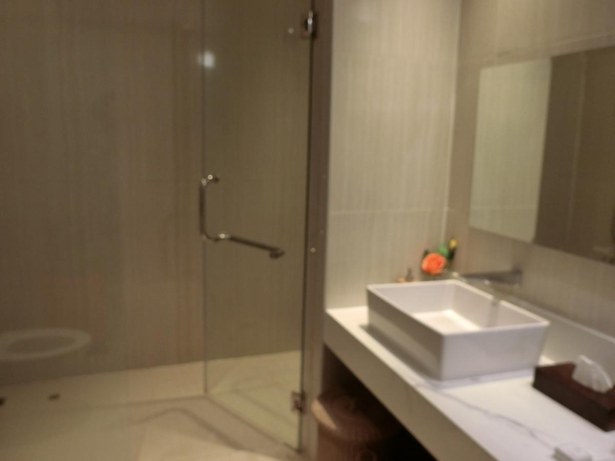 ミラクルファーストラウンジにはシャワー室完備