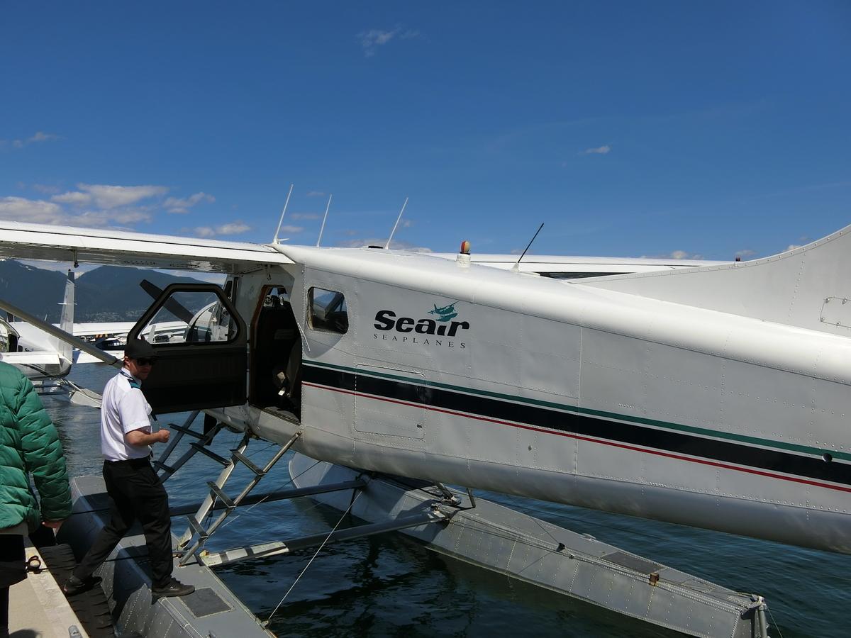 バンクーバーの水上飛行機