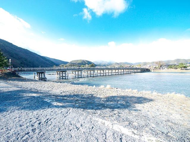画像配置 桂川と渡月橋の写真です。 330✖️270