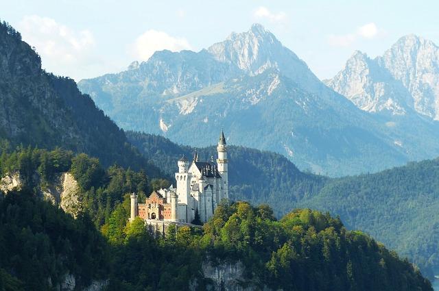 画像の配置 フュッセン・ノイシュバインシュタイン城の写真です