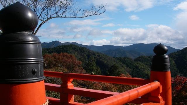 画像の配置 鞍馬寺からの景色風景の写真です