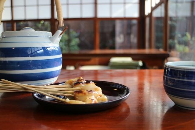 画像の配置です 京都名物のスイーツの写真です