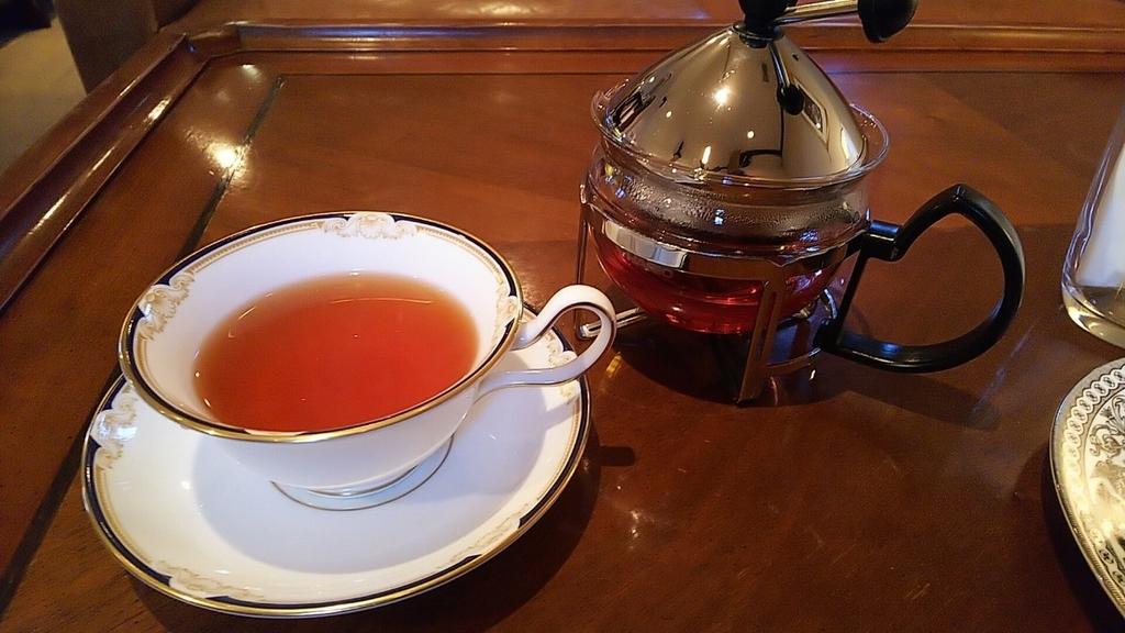 四日市市のカフェ『nanan』の紅茶