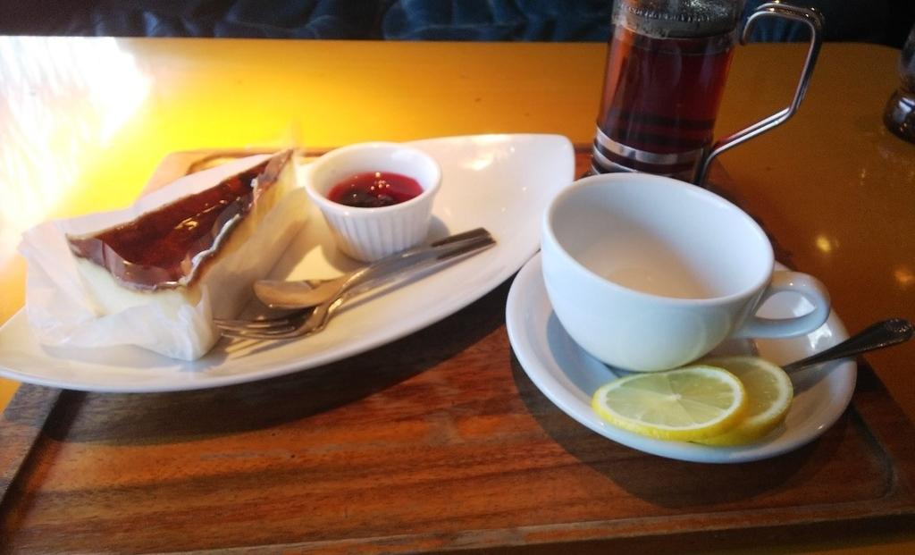 ギオンシグマカフェのカフェセット
