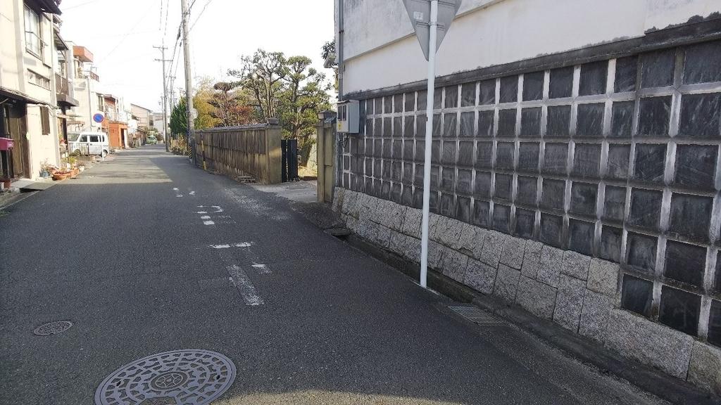 笹井屋本店の駐車場の場所の説明1