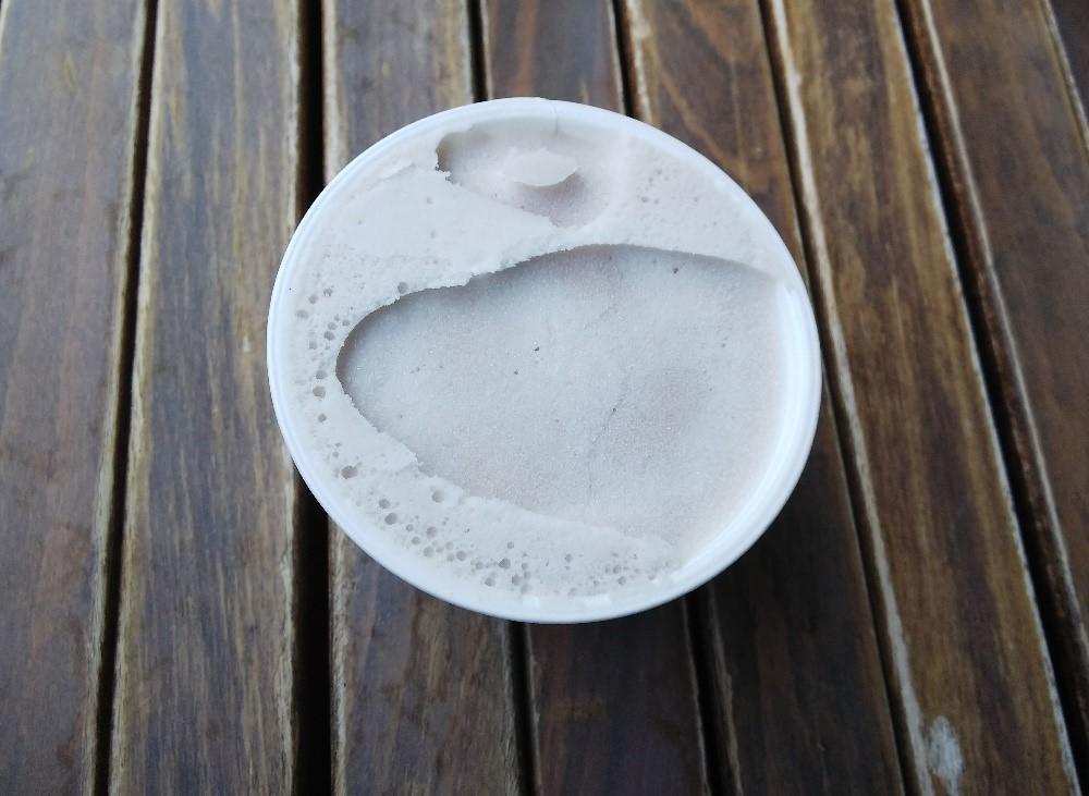 関の戸アイスの中身の写真