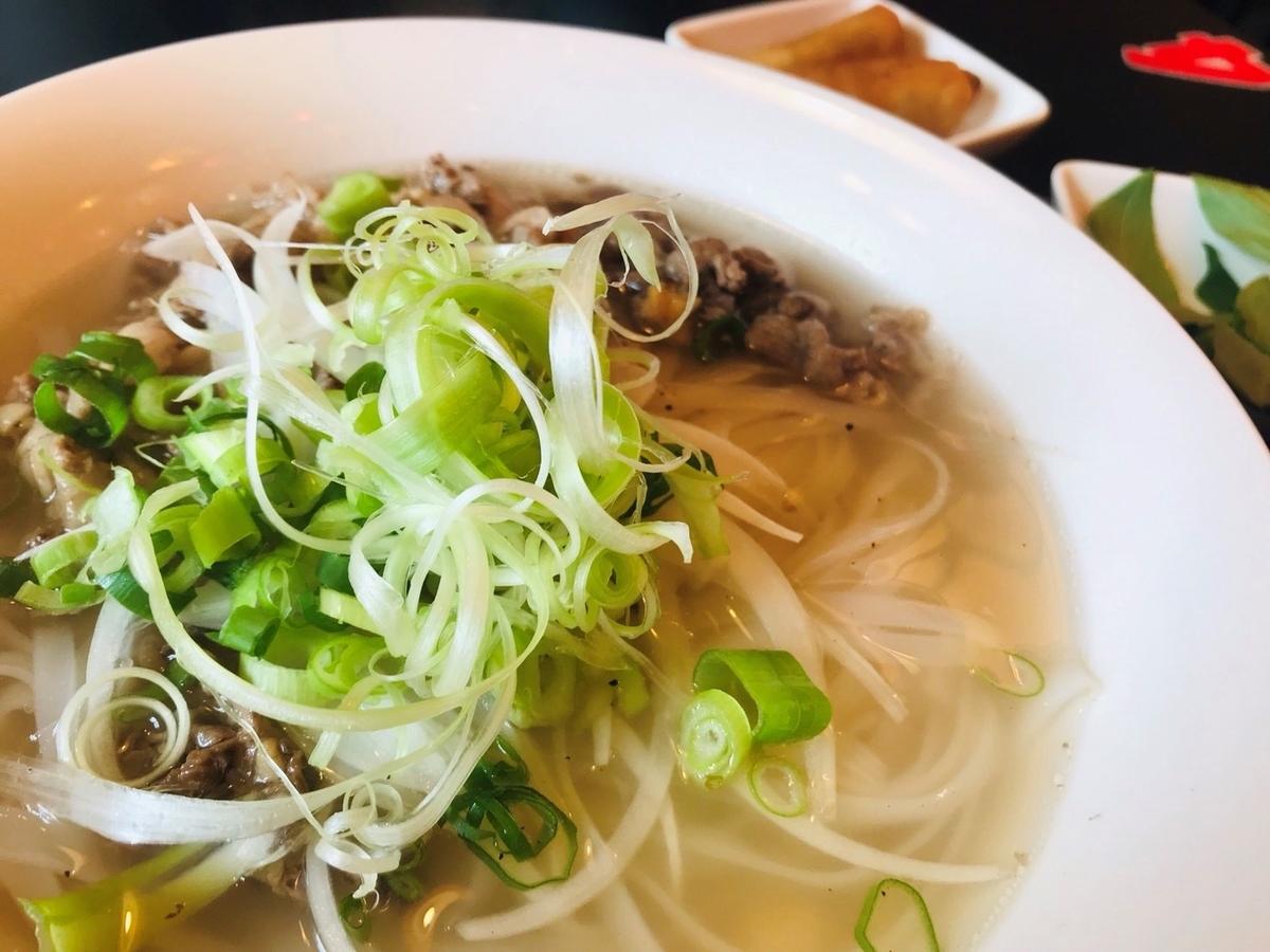 PHO CO SAI HAI GON(フォーコハイサイゴン)の牛肉フォーの拡大写真