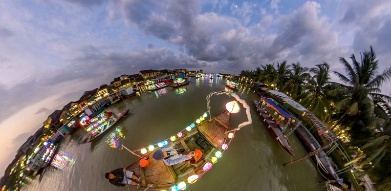 Hoi An・Thu Bon River