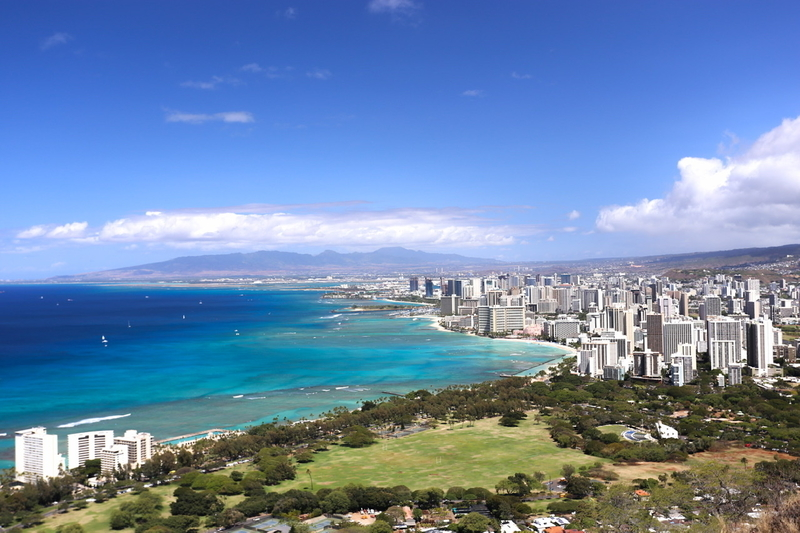 Hawaii・Diamond Head
