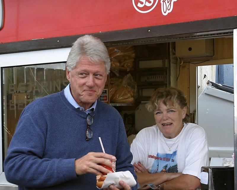 アメリカ合衆国 第42代大統領 ビル・クリントン氏