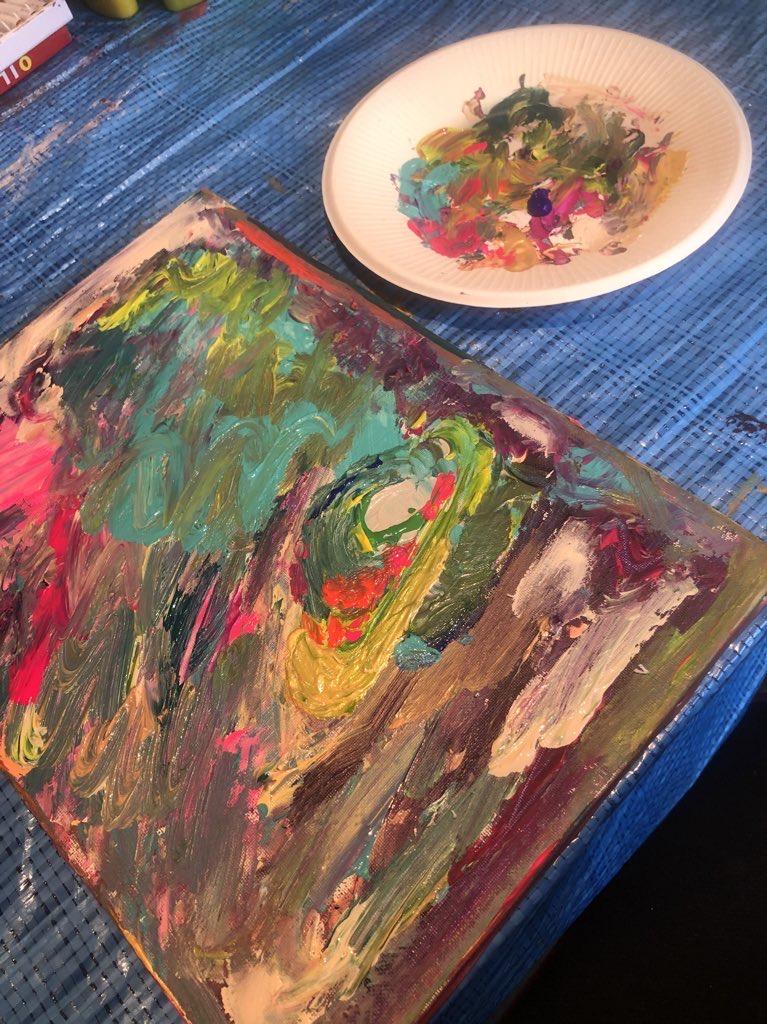 右脳で描く抽象画