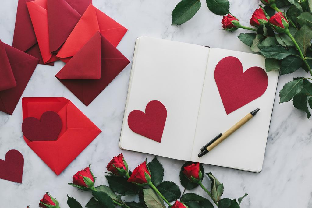 メッセージカードバレンタイン