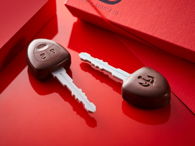 クルマのカギチョコレート