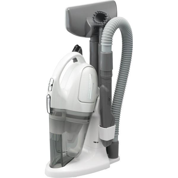 ツインバード コードレスハンディークリーナーサットリーナサイクロン パールホワイト 電化製品 掃除機 HC-5235PW