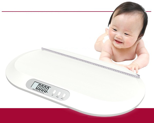 赤ちゃん用デジタル体重計
