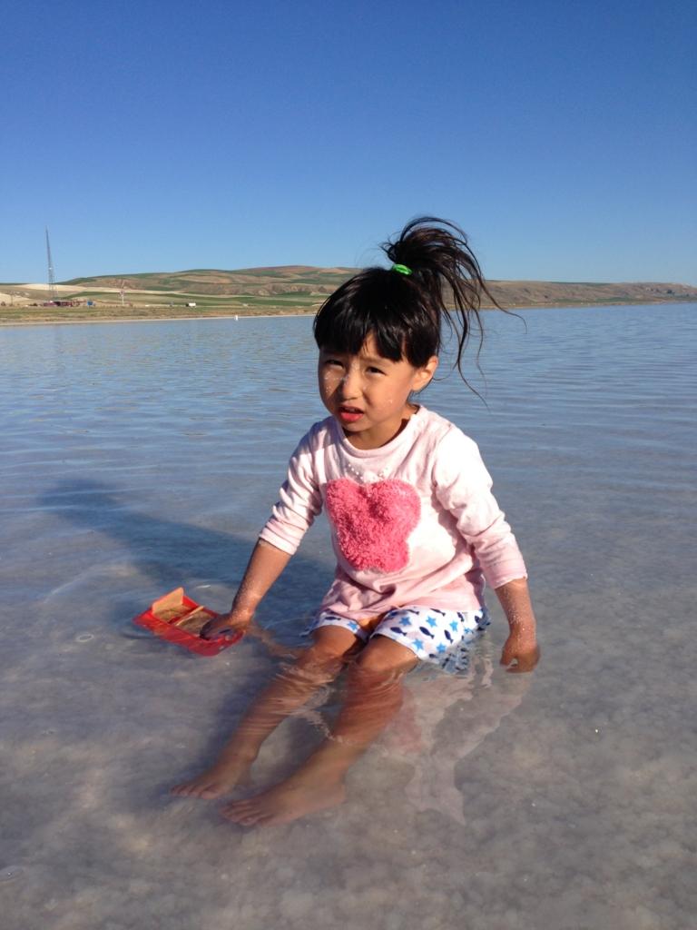 トゥズ湖寒い