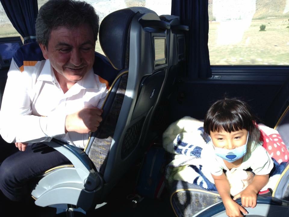 トルコバス運転手