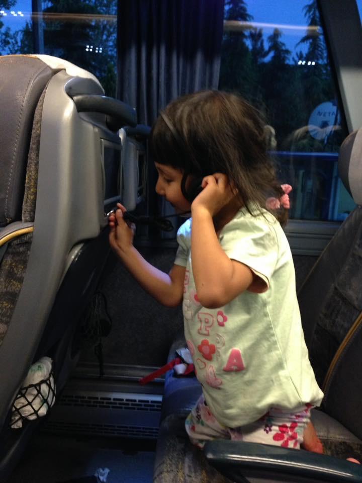 トルコバス車内