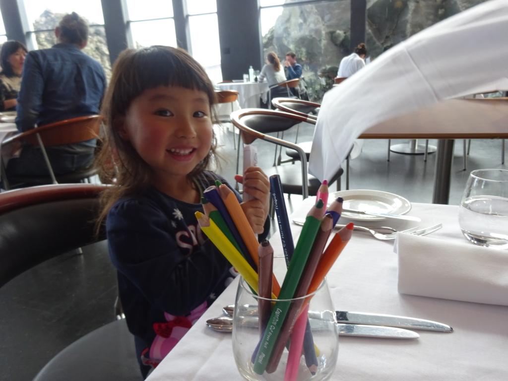 LAVAレストランお絵描き