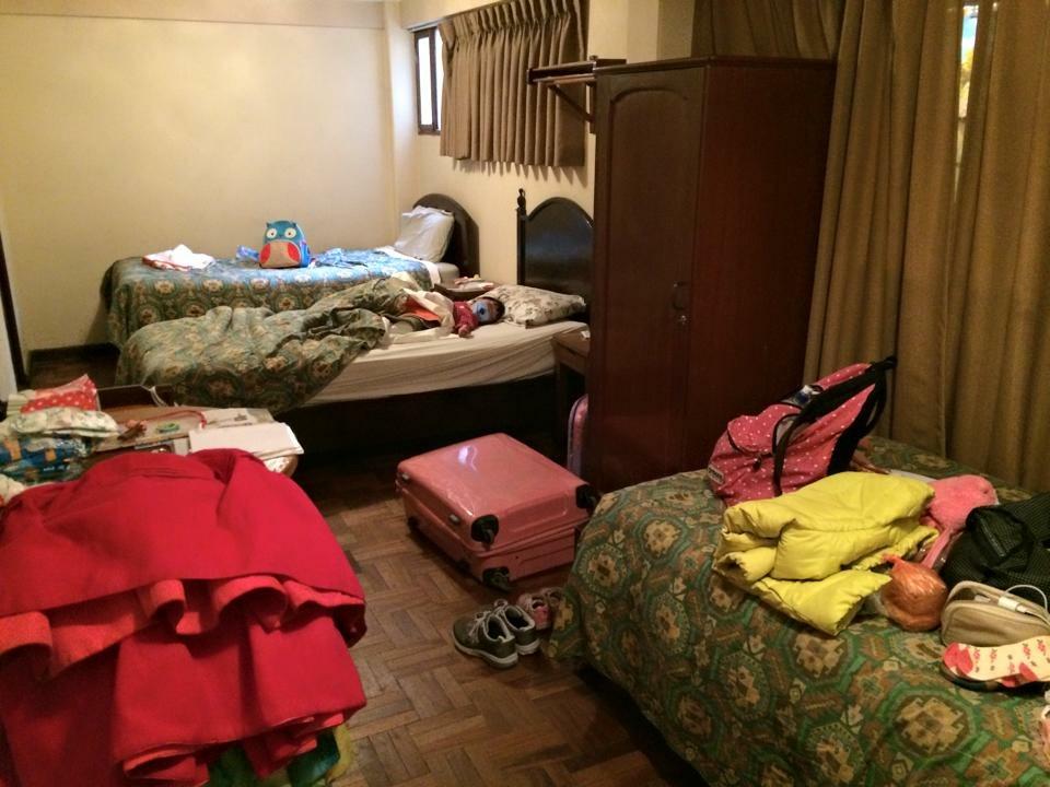 ラパス安宿部屋