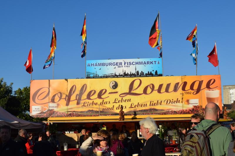 ハンブルクフィッシュマーケットカフェ