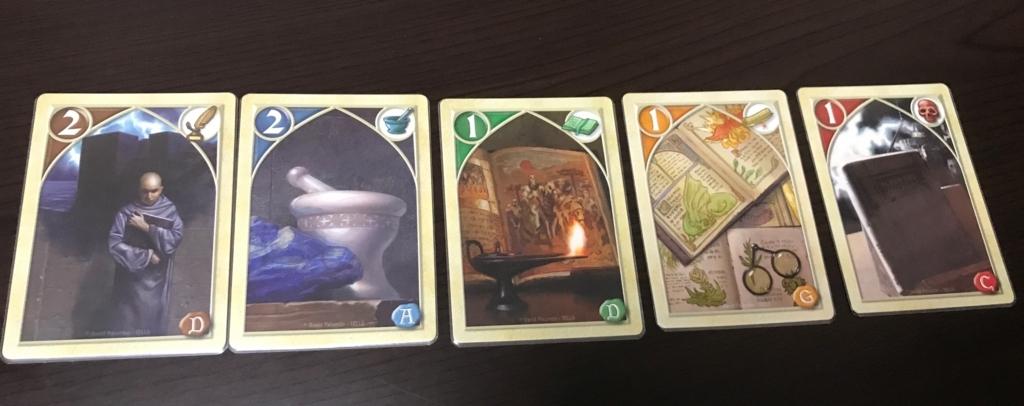 5種類のカード