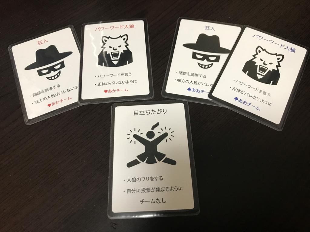 役職カード