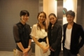 Vege&Fork Market主宰 戸田耕一郎さんご夫妻、室谷真由美さん、村田美夏