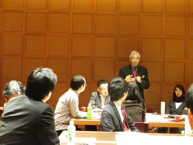 東大ワールドカフェ モンテ・カセムさん 伊藤国際学術研究センター