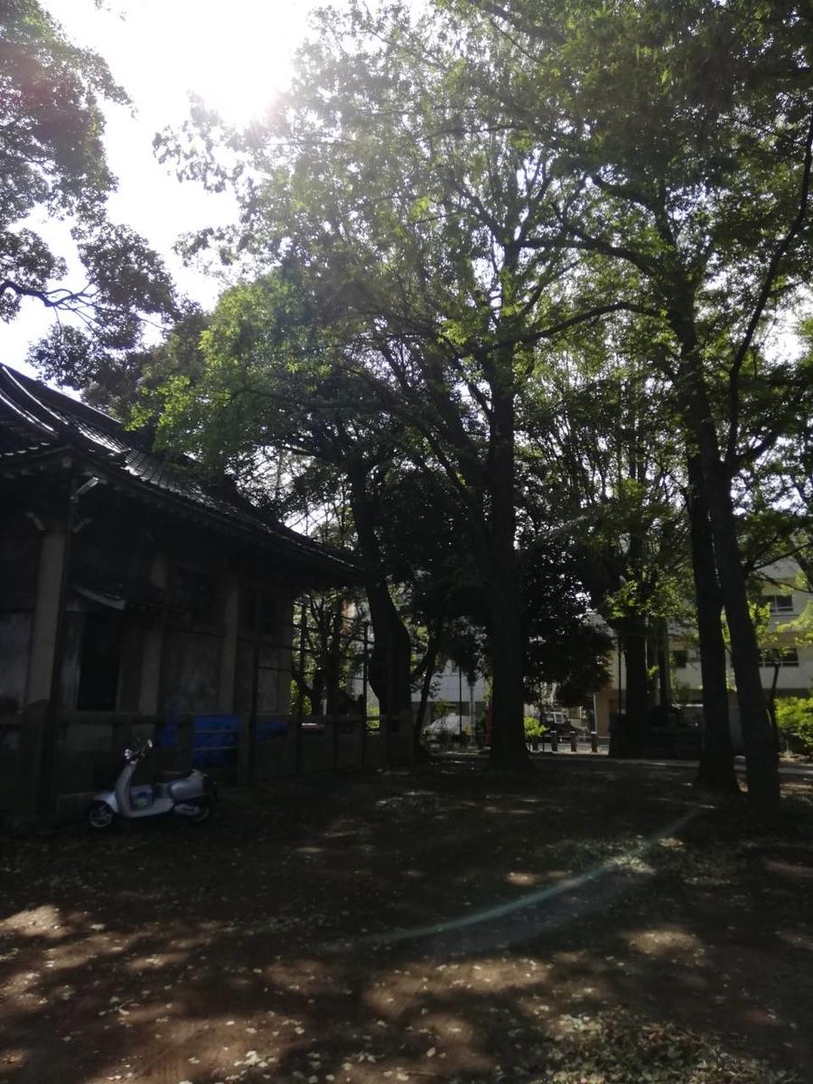 諏方神社 西日暮里