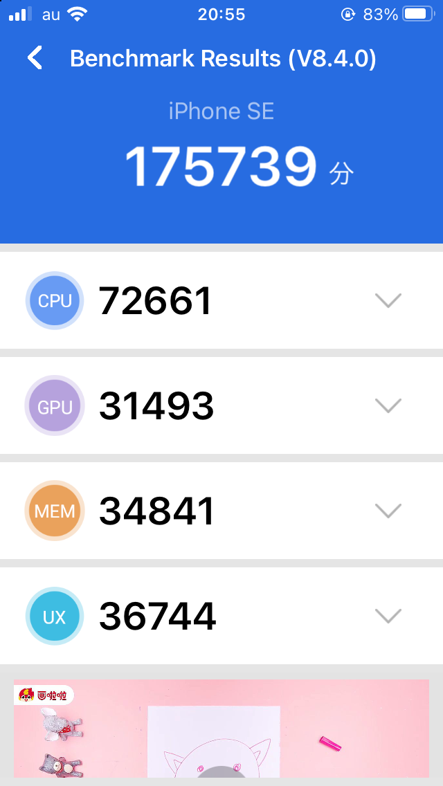 iPhoneSE(初代)はまだまだ現役 2
