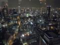 [大阪][NightView ]新梅田シティ。空中庭園展望台