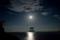 『京都新聞写真コンテスト 中秋の月光』