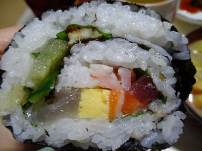 海鮮大名巻き寿司