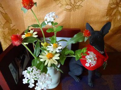 愛犬に供える花