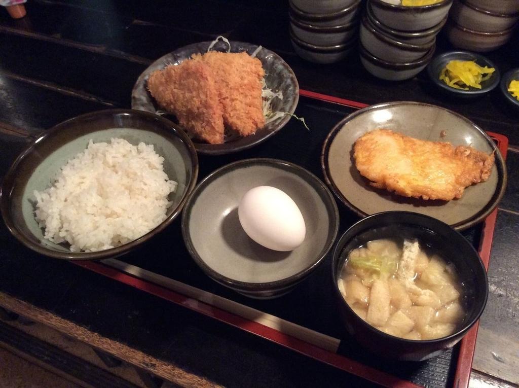 ハムカツと白身魚のピカタ(黄金焼き)