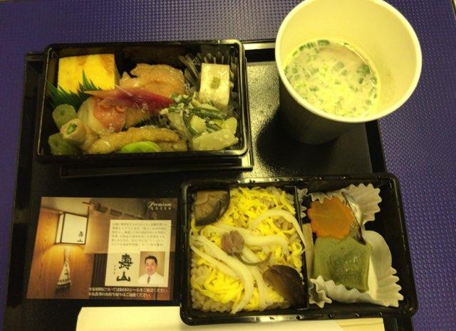 ANAプレミアムクラスの機内食 夕食 -Premium GOZEN-
